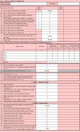 Konečná výše daně se zobrazuje na řádku č. 91.