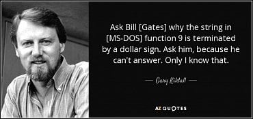 Gary Kildall Quote