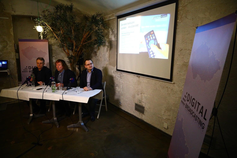 Tisková konference Digital Broadcasting, leden 2018