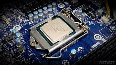 Vzorek Intel Core i9-10900