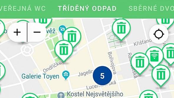 [aktualita] Stovky senzorů v popelnicích se Praze údajně osvědčily, projekt má pokračovat