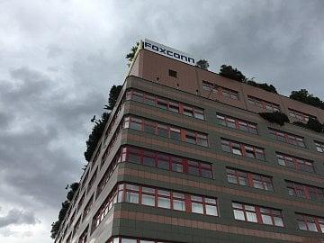 Sídlo českého Foxconnu DRC v Praze