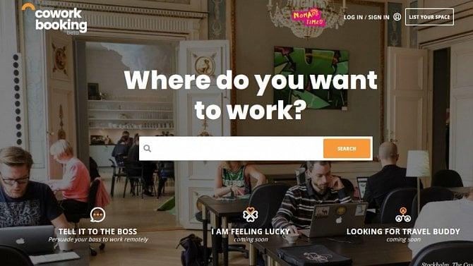 [aktualita] Startup Coworkbooking nabízí rezervace míst v coworkingu pro digitální nomády