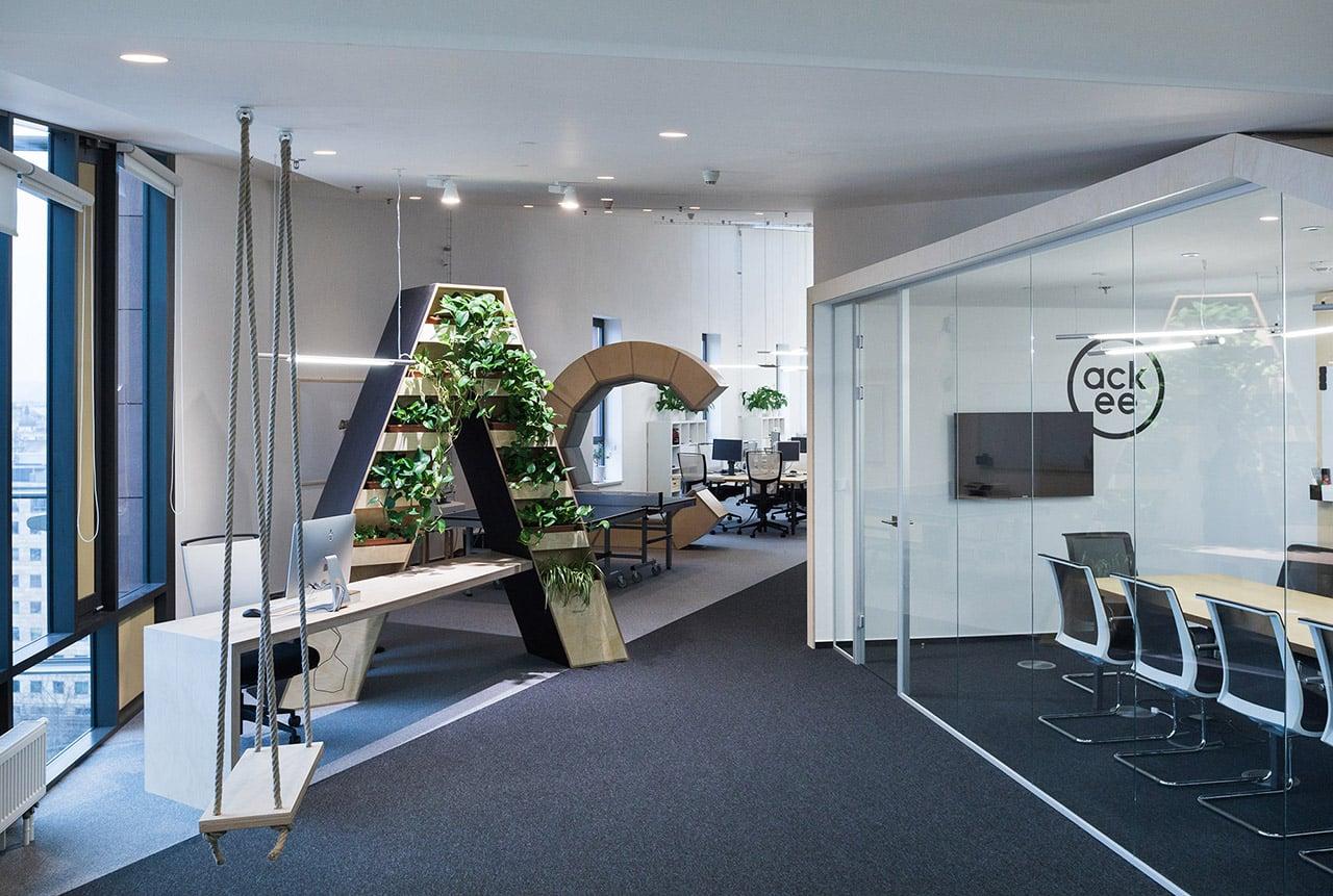 Kanceláře vývojářů Ackee v pražském Karlíně