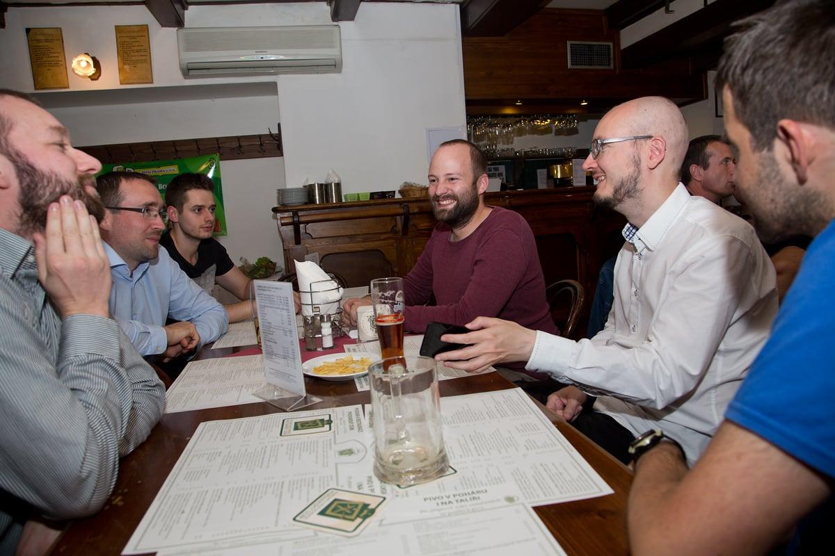 Setkání podporovatelů s redakcí