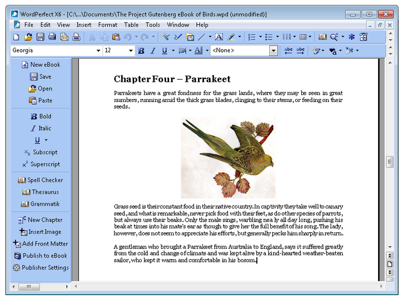 WordPerfect Office X6