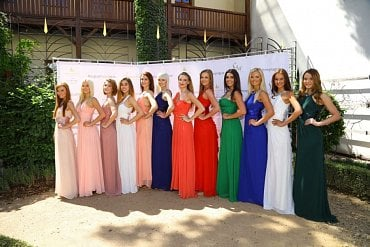 Česká Miss 2017 - finalistky.