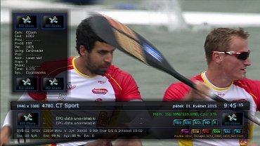 Stanice ČT Sport HD začala vysílat v nabídce satelitní služby freeSAT. Obrázek lze zvětšit.