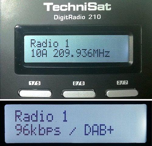 Ukázka z vysílání DAB rozhlasu ve III. pásmu z Plzně