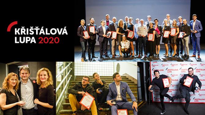 Nominace do ankety Křišťálová Lupa 2020jsou vpolovině. Kdo vás letos zaujal?