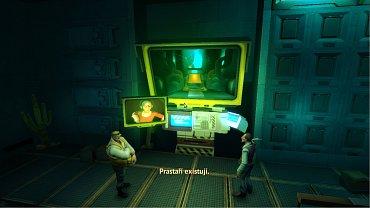 Screenshoty ze hry Rochard