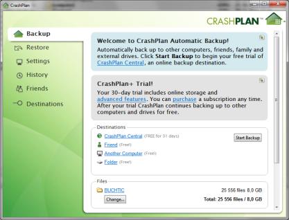 Pomocí CrashPlan zálohujte svá data profesionálně a mějte k nim přístup z iPhonu či Adrnoidu