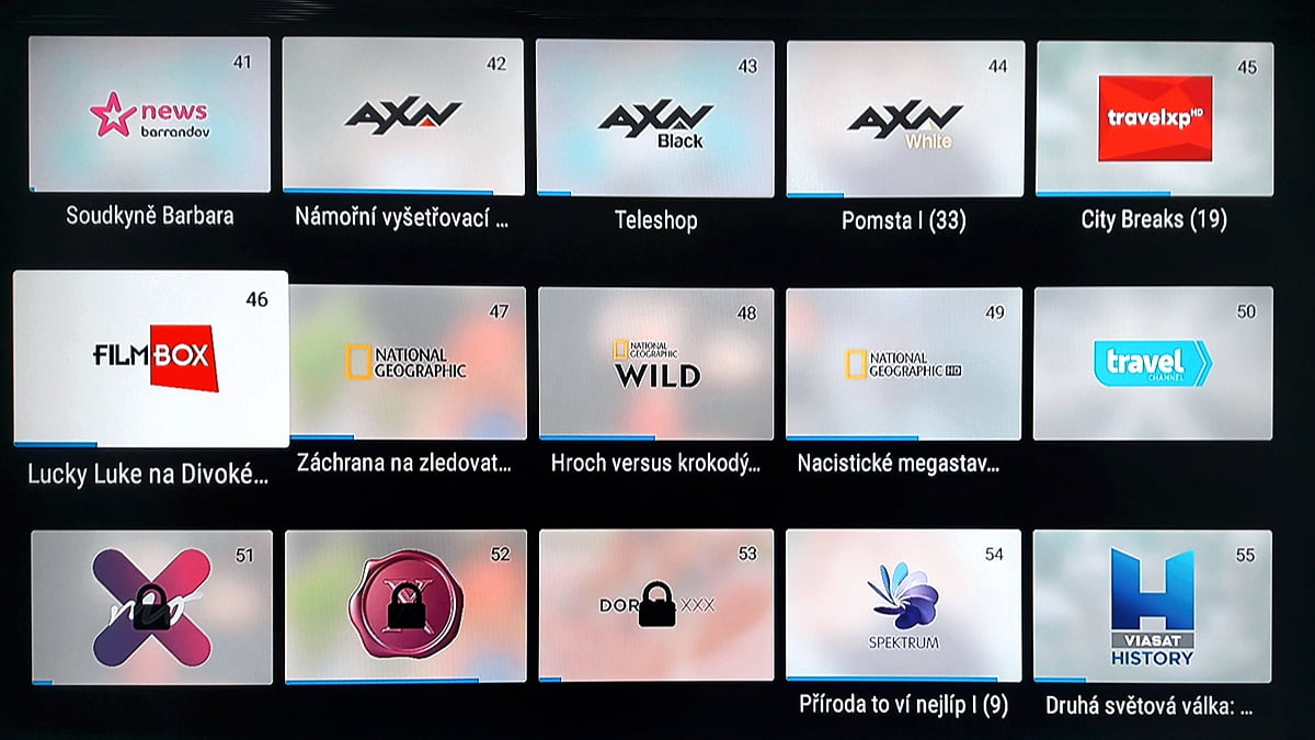 SledováníTV - aktuální programová nabídka