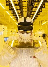 Drážďanská továrna na wafery od firmy Bosch
