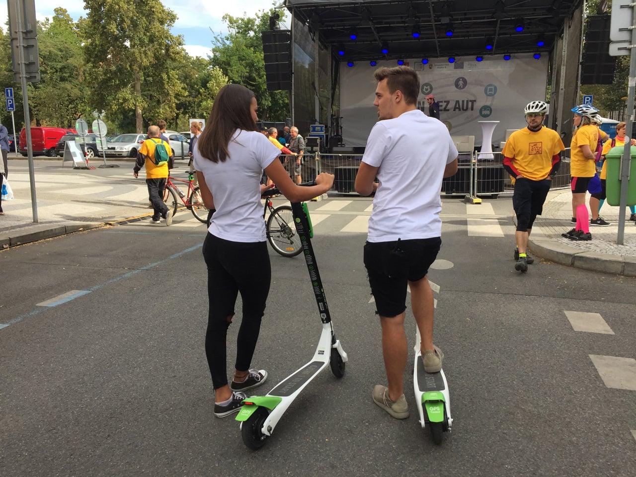 Elektrické koloběžky Lime startují v Praze