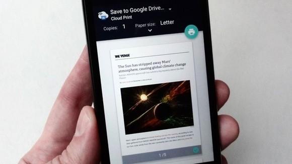 Chcete uložit internetovou stránku do svého mobilního zařízením s operačním systémem Android? Jednou z možností je tisk takové stránky do formátu PDF souboru – ten můžete uložit buď na Disk Google, nebo přímo do úložiště mobilního zařízení