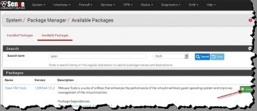 Install Open-VM-Tools