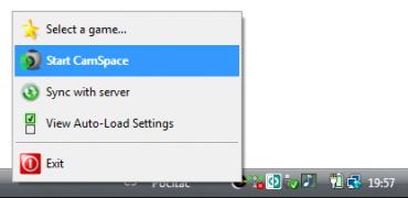 <p>Aplikace lze najít minimalizovanou v hlavním panelu</p>