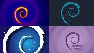 Debian 9 návrhy vzhledu