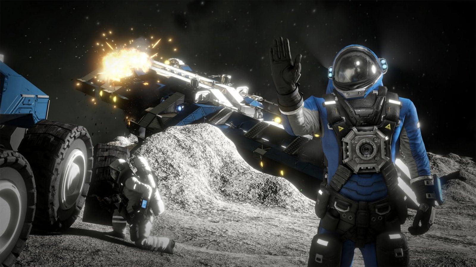 Jak vypadá hra Space Engineers