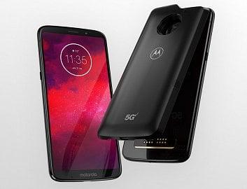 Motorola Moto Z3 s 5G modulem