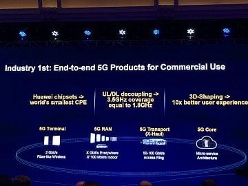 Plány na 5G podle Huawei