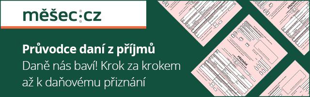 Daň z příjmu tip Měšec.cz