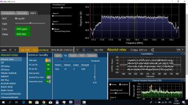 Příjem DAB+ pomocí software QIRX a Qt-DAB na počítači s USB modulem SDR přijímače