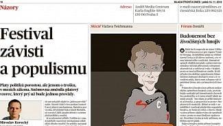 Lupa.cz: MF DNES vyhrožuje majiteli Seznam.cz
