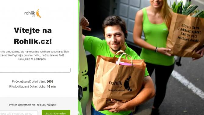 [aktualita] České potravinové e-shopy přes veškerou snahu pod náporem kolabují [AKTUALIZOVÁNO]