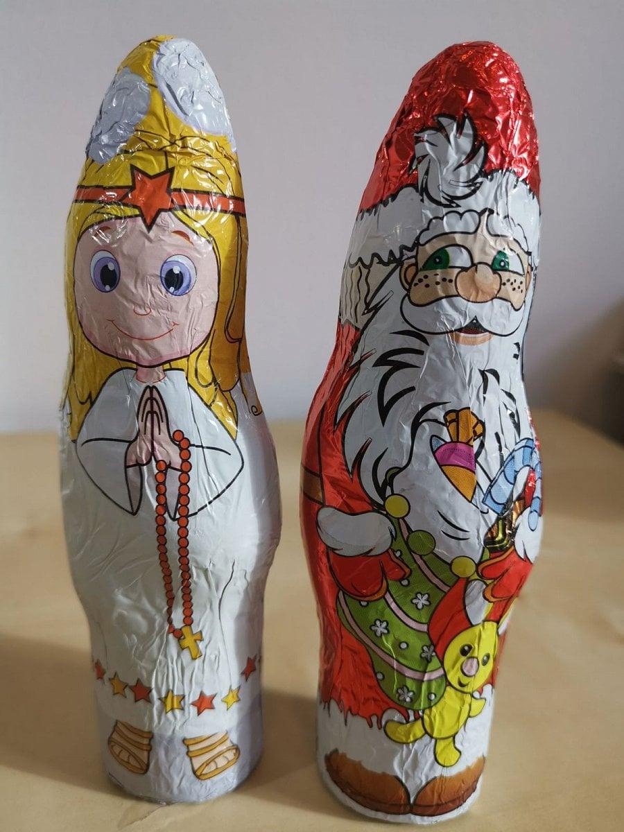 Čokoláda a náhražka