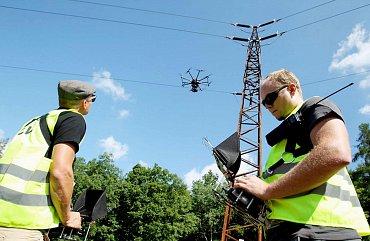 E.ON, UpVision a monitoring elektrických sítí pomocí dronů.