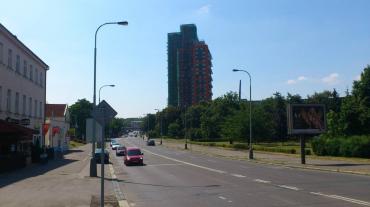 Stavba rezidenčního mrakodrapu Eliška