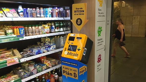 [aktualita] V pražském metru bylo zprovozněno 10 bankomatů na kryptoměny