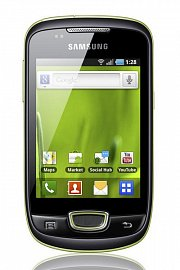 Samsung S5570 Galaxy Mini s Androidem je k mání za méně než 3000 Kč.