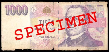 Poškozené a opotřebené bankovky