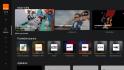 Uživatelské rozhraní TV boxu Orange Slovensko