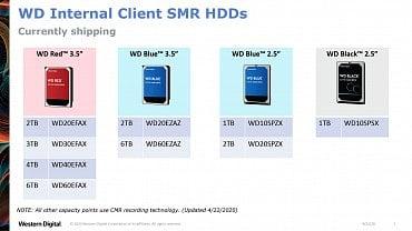WD a SMR disky