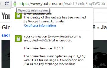 YouTube podporuje HTTPS