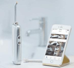 Chytrý zubní kartáček s 10 Mpx kamerou.