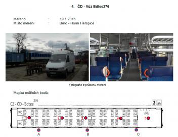 Starší vagóny přitom signál podle analýzy ČTÚ tlumí o něco méně. Tento typ například vyšel z měření o poznání lépe, než zmodernizované nebo nové vozy...