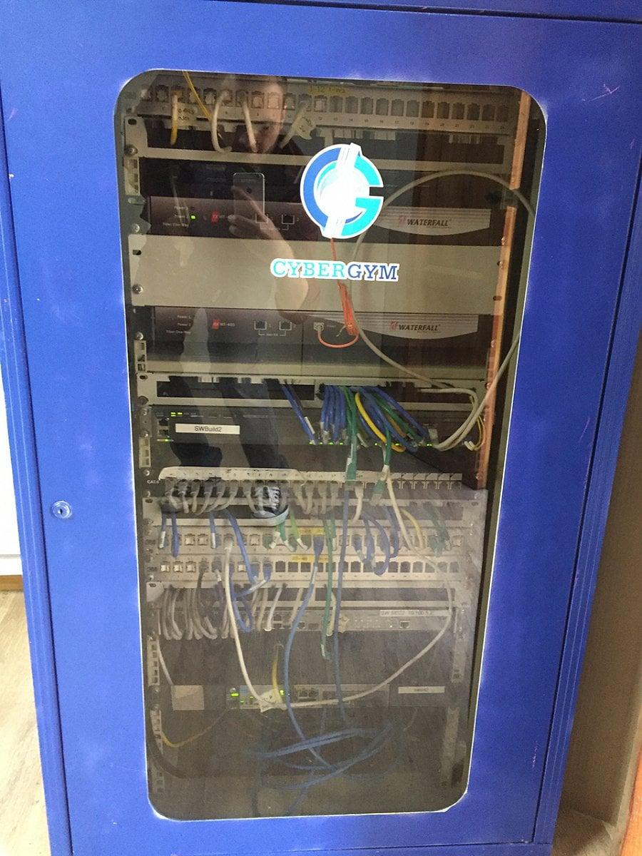Výcvikové centrum CyberGym poblíž Tel Avivu v Izraeli