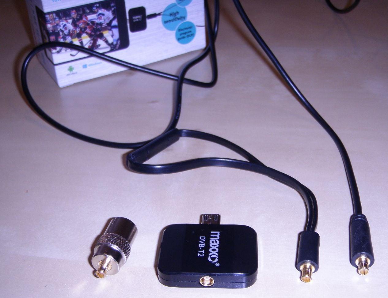 Maxxo T2 mobile - konektory