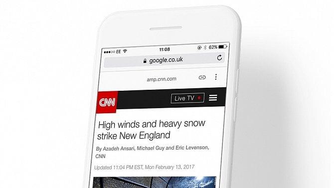 [článek] Accelerated Mobile Pages (AMP): Nové oblasti využití. Aco Instant Articles a Apple News?