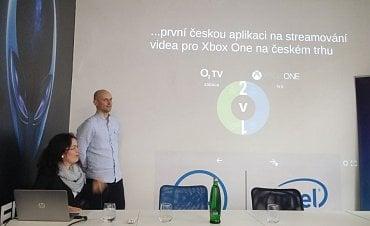 Představení O2 TV pro Xbox One.