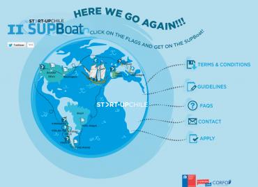 SUPboat jezdí po světě a láká do Chile