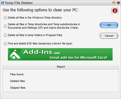 Temp File Deleter