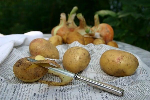 Nejlepší brambůrky ze všech jsou ty z bramborových slupek