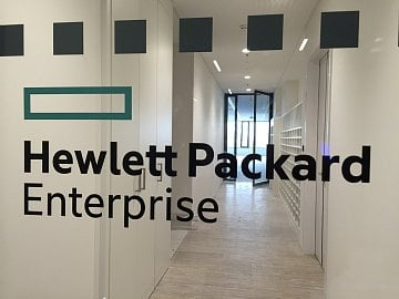 Hewlett Packard Enterprise.