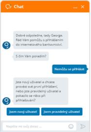Chatbot od České spořitelny zná dokonce i několik vtipů.